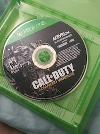Call of Duty Advanced Warfare Xbox One game disc 423 mi