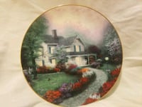 6 Thomas Kinkade plates. Home Is Where The Heart I Salem, 97306