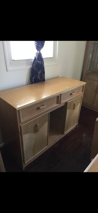 brown wooden single pedestal desk Gainesville, 20155