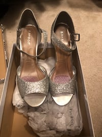 Silver Party shoes worn once  Ashburn, 20148