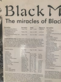 The miracles of black inventors and scientist Fort Washington, 20744