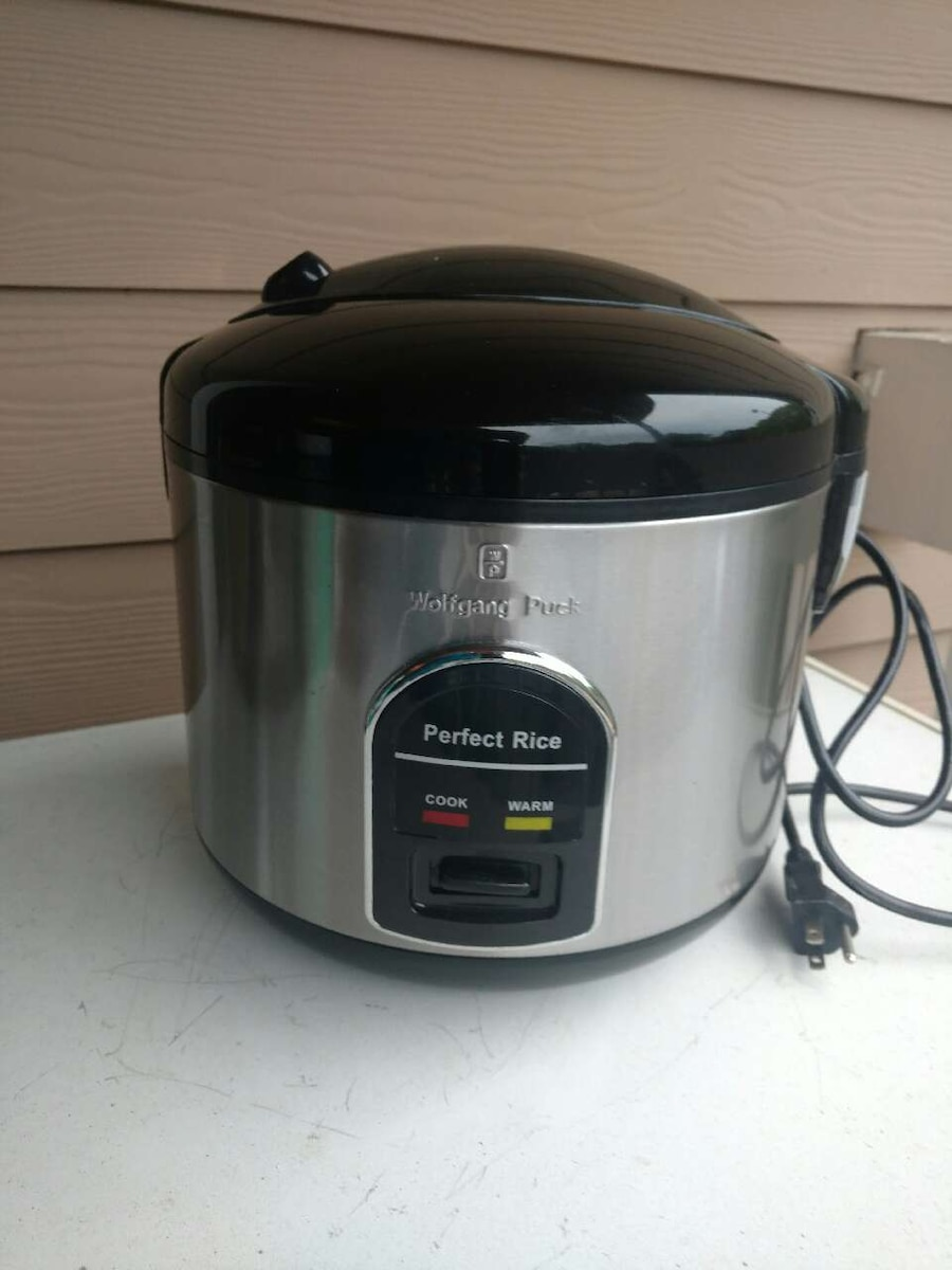 Wolfgang Puck Rice Cooker ~ Letgo wolfgang puck cup rice cooker in mount tabor nc