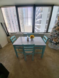 Beautiful IKEA remodeled dining table Chicago, 60611
