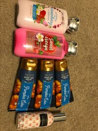 Lotions & body spray  Wichita, 67213
