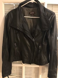 Real leather jacket. Danier Women's small. From smoke free home