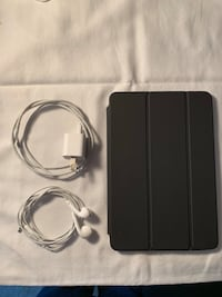 black tablet computer with charger Ashburn, 20148