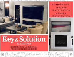 Tv Mounting , Camera Installs , landscape Systems