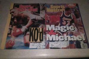 COLLECTABLE Sports Illustrated.