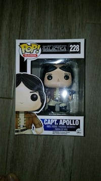 Pop! Battlestar Galactica 228 Capt. Apollo vinyl figure box Palm Springs, 92262