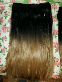 20 inch (2 pieces) 3/4 full head hair extensions