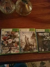 XBox 360 games.  Read info Goldsboro, 27530