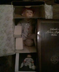 baby doll in white dress with box Kingman, 86401