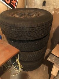 Rims and tires 265/70/17