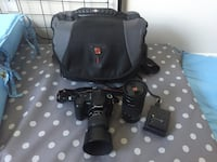 Sony Camera almost new with lenses and bag Colorado Springs, 80915
