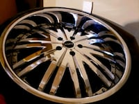"22"" MHT 2pc Wheels  Dale City"
