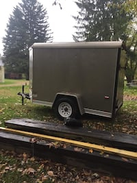 !! CLEAN 5x10 ENCLOSED TRAILER !!