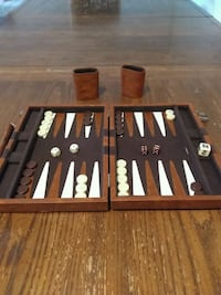 Backgammon magnetic travel set Fairfax, 22031