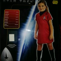 New: SIZE MEDIUM Star trek girls halloween costume Edmonton, T6X 1J9