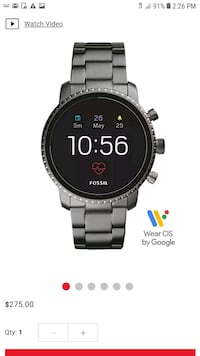 Brand new Fossil smart watch gen3 for men's  Allentown