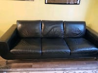 Natuzzi leather couch $50 OBO Pickup Only Colorado Springs, 80951