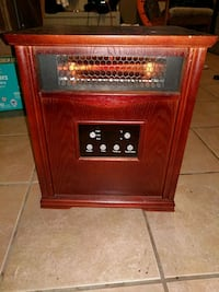 Heater portable with wheels  St. Catharines, L2R 2J5