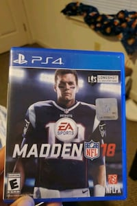 Madden 18 ps4 game