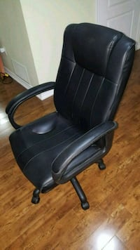 Executive High back leather office chair. Brampton