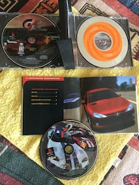 Sony Playstation 1 GT-2. Racing Game with 3 Cd disc a d booklet in case / Love PS Alexandria, 22311