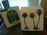 two Coconut trees print boxes