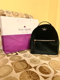 Brand New Kate Spade Velvet Small Backpack With Tags and Gift Bag Markham, L3S 3N1