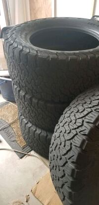 4 Used BF Goodrich KO2 325/60/r20 tires with 18,000 miles on them Sterling, 20164