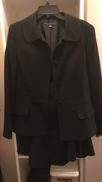 Black two piece suit. Skirt and jacket   Vaughan, L4J 7Y5
