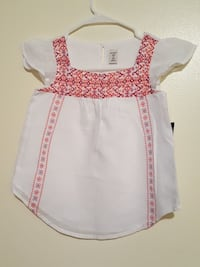 NEW LITTLE GIRLS Blouse, size 6-7