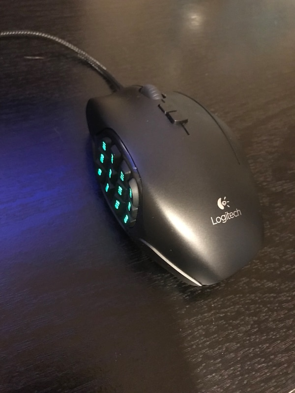 3117c936102 Used Logitech G600 MMO Gaming Mouse, RGB Backlit, 20 Programmable Button  for sale in Plano - letgo