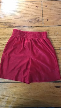 Red jersey shorts, boys 2T - Athlectic Works North Bay, P1A 4H2