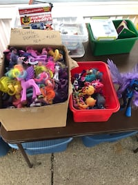 Assorted My Little Ponies .50 to 1.00 each