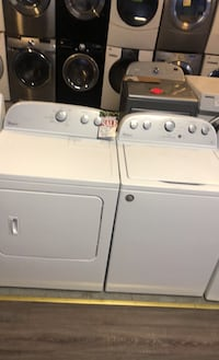 Whirlpool top load washer and dryer set