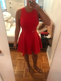 women's red sleeveless dress Arlington, 22209