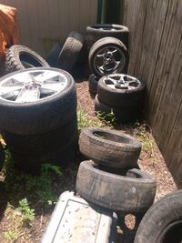 Used tires all different sizes cheap