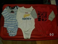 3 long sleeve onesies  Ajax, L1Z 1B8