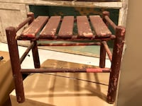 Small Primitive Stepping Stool Forest, 24551