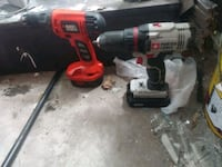 black and red cordless power drill Tampa, 33612
