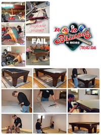 FREE ESTIMATES FOR ALL YOUR POOL TABLE NEEDS Miami, 33186