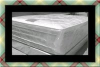 "Full 16"" double pillow top mattress with boxspring Beltsville"