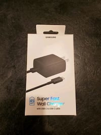 Samsung 45W USB-C Super Fast Wall Charger (Black)  Rockville