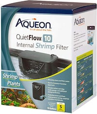 Aquarium Aqueon quietflow filter 10