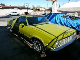 Chevrolet - El Camino - 1984 350 with a 350 turbo