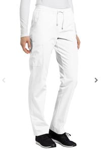White Cross Scrub Pants