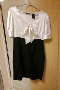 Black and white dress.  Size 8. Vaughan, L4H 2W3