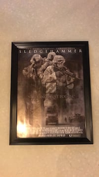 US Army 3ID 3rd Infantry Division Sledgehammer Poster Rockville, 20853